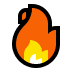 🔥 Feuer Emoji auf Windows-Plattform