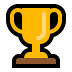 🏆 trophy Emoji on Windows Platform
