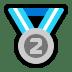 🥈 2nd place medal Emoji on Windows Platform