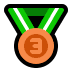 🥉 3rd place medal Emoji on Windows Platform