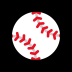 ⚾ baseball Emoji on Windows Platform