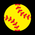 🥎 softball Emoji on Windows Platform