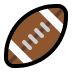 🏈 american football Emoji on Windows Platform