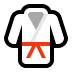 🥋 martial arts uniform Emoji on Windows Platform