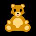 🧸 teddy bear Emoji on Windows Platform