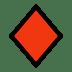 ♦️ diamond suit Emoji on Windows Platform