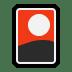 🎴 flower playing cards Emoji on Windows Platform