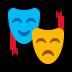 🎭 performing arts Emoji on Windows Platform