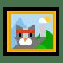 🖼️ framed picture Emoji on Windows Platform