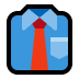 👔 necktie Emoji on Windows Platform