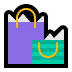 🛍️ Shopping Bags Emoji on Windows Platform