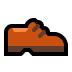 👞 man's shoe Emoji on Windows Platform