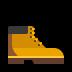 🥾 Hiking Boot Emoji on Windows Platform