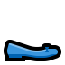 🥿 flat shoe Emoji on Windows Platform