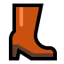 👢 woman's boot Emoji on Windows Platform
