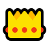 👑 crown Emoji on Windows Platform