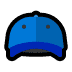 🧢 billed cap Emoji on Windows Platform