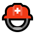 ⛑️ rescue worker's helmet Emoji on Windows Platform