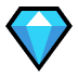 💎 gem stone Emoji on Windows Platform