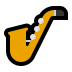 🎷 saxophone Emoji on Windows Platform