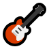 🎸 guitar Emoji on Windows Platform