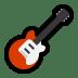 🎸 guitar Emoji on Windows Platform