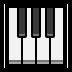 🎹 musical keyboard Emoji on Windows Platform