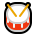 🥁 drum Emoji on Windows Platform