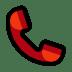 📞 telephone receiver Emoji on Windows Platform