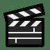 🎬 Clapper Board Emoji on Windows Platform