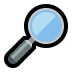 🔎 magnifying glass tilted right Emoji on Windows Platform