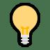 💡 light bulb Emoji on Windows Platform