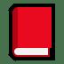 📕 closed book Emoji on Windows Platform