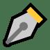 ✒️ black nib Emoji on Windows Platform