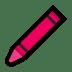 🖍️ crayon Emoji on Windows Platform