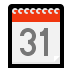 🗓️ spiral calendar Emoji on Windows Platform