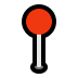 📍 Round Pushpin Emoji on Windows Platform