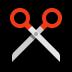 ✂️ scissors Emoji on Windows Platform