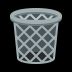 🗑️ wastebasket Emoji on Windows Platform