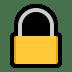 🔒 locked Emoji on Windows Platform