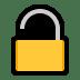 🔓 Unlocked Padlock Emoji on Windows Platform