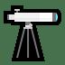 🔭 telescope Emoji on Windows Platform
