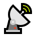 📡 satellite antenna Emoji on Windows Platform