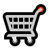 🛒 shopping cart Emoji on Windows Platform
