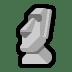 🗿 Moai Emoji on Windows Platform
