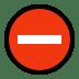 ⛔ no entry Emoji on Windows Platform
