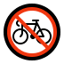 🚳 no bicycles Emoji on Windows Platform