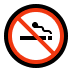 🚭 no smoking Emoji on Windows Platform
