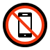 📵 no mobile phones Emoji on Windows Platform