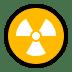 ☢️ radioactive Emoji on Windows Platform